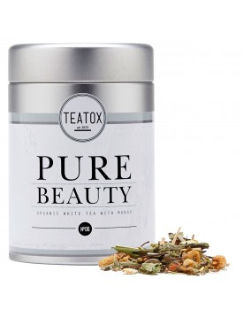 Té Belleza Pura. Pure Beauty Organic Tea-60g-Teatox