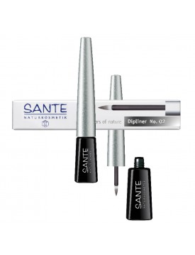 Eye Liner Black Glamour-Sante