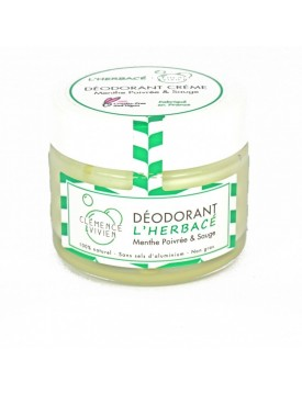Desodorante Natural en Crema Herbal 50g-ClemenceVivien