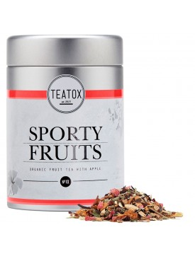 Té Deportistas con Manzana e Hibisco. Sporty Fruits Tea 90gr-Teatox