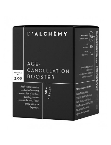 Concentrado Antiedad Piel Mixta Age-Cancellation Booster 50ml-DALCHEMY VERUM NATURA