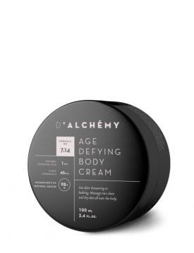 Crema Corporal Antiedad-Age Defying Body Cream 100ml-D'ALCHEMY