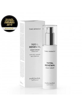 Crema de Noche Total Renewal Time Miracle 50ml-MADARA VERUM NATURA
