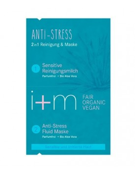 Mascarilla Facial 2 en 1 Anti-stress 2x4ml-I+M