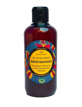 Gel Rizos Salvajes Sin aclarado 250ml