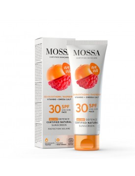 Crema Facial SPF30 Antioxidante Color-MOSSA