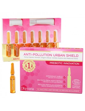 Ampollas Antipollution Urban Shield 7uds.